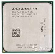 Процессор AMD Athlon II X2 240 Socket am3 am3+ am2 Нефтекумск